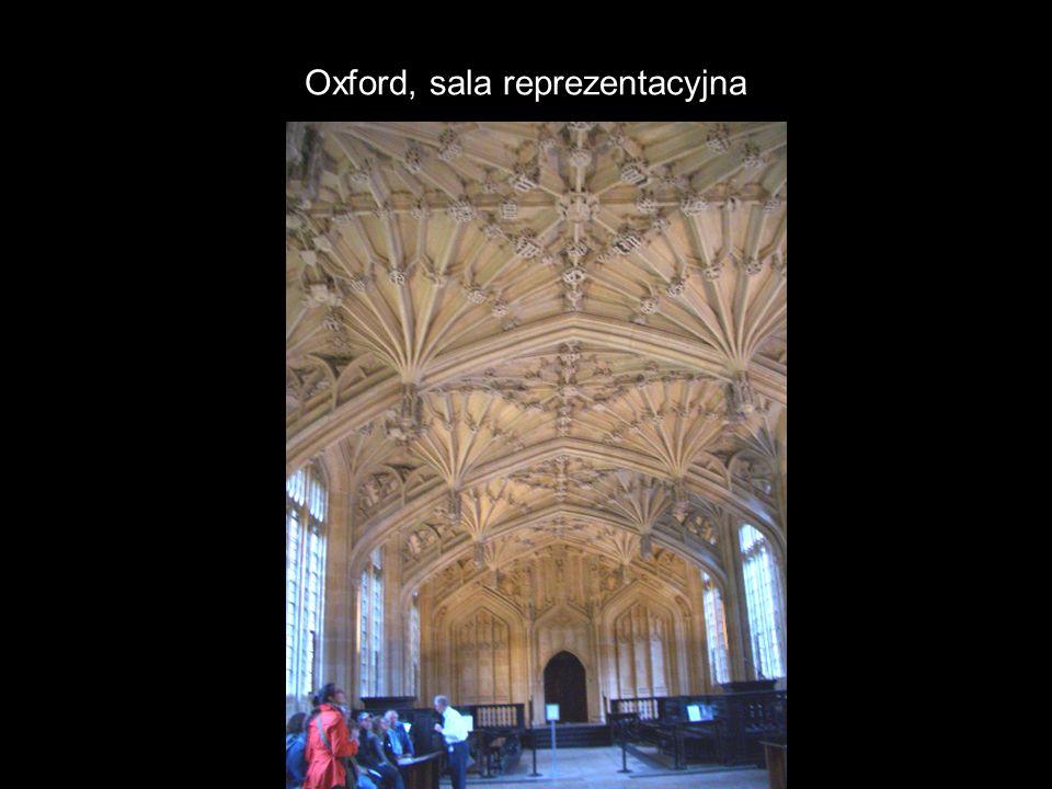 Oxford, sala reprezentacyjna