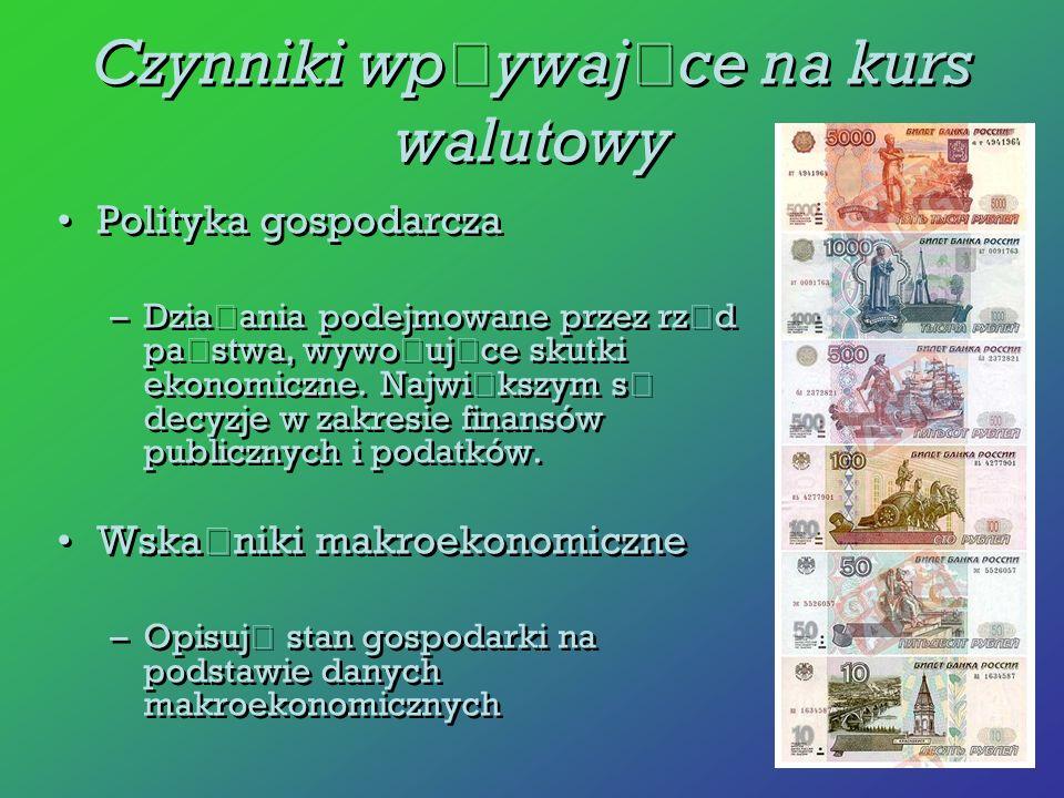 Polityka gospodarcza –Dzia ł ania podejmowane przez rz ą d pa ń stwa, wywo ł uj ą ce skutki ekonomiczne. Najwi ę kszym s ą decyzje w zakresie finansów