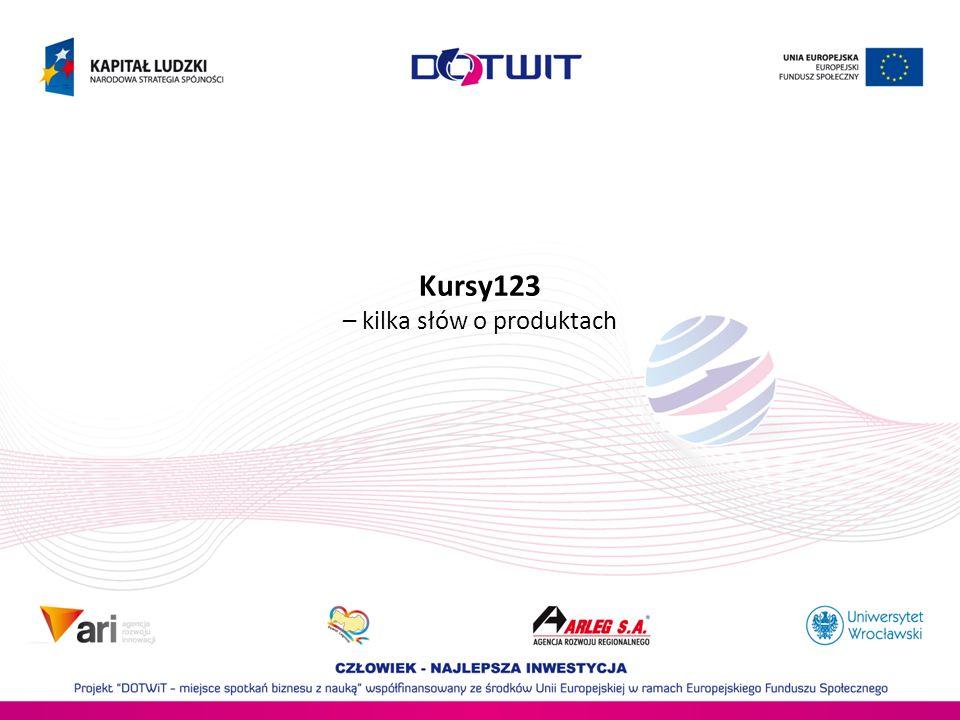 Kursy123 – kilka słów o produktach