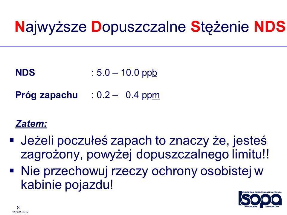 Version 2012 29 Wyposażenie zbiornika Pokrywa włazu musi być zamknięta.