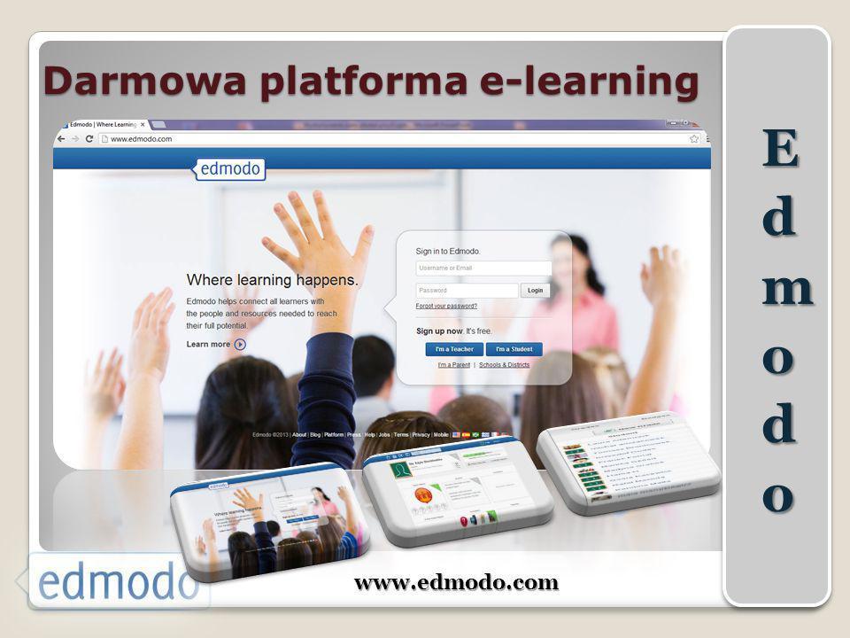 Darmowa platforma e-learning www.edmodo.com