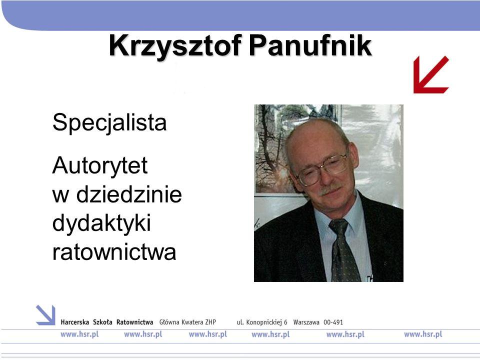 Krzysztof Panufnik Specjalista Autorytet w dziedzinie dydaktyki ratownictwa