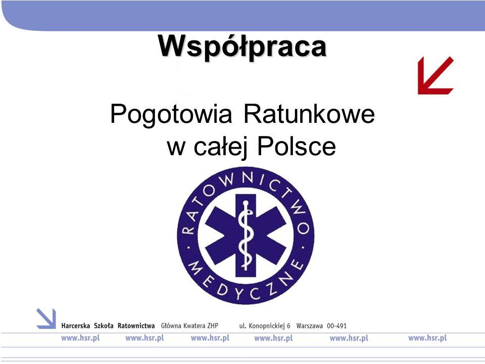 Współpraca Pogotowia Ratunkowe w całej Polsce