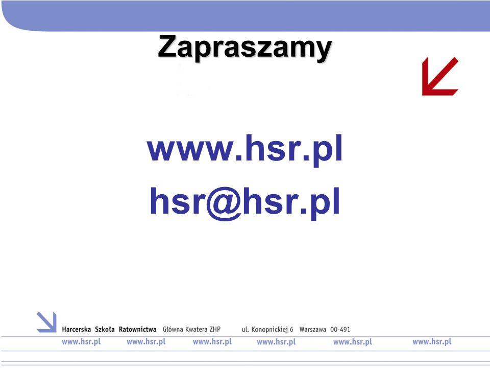 Zapraszamy www.hsr.pl hsr@hsr.pl