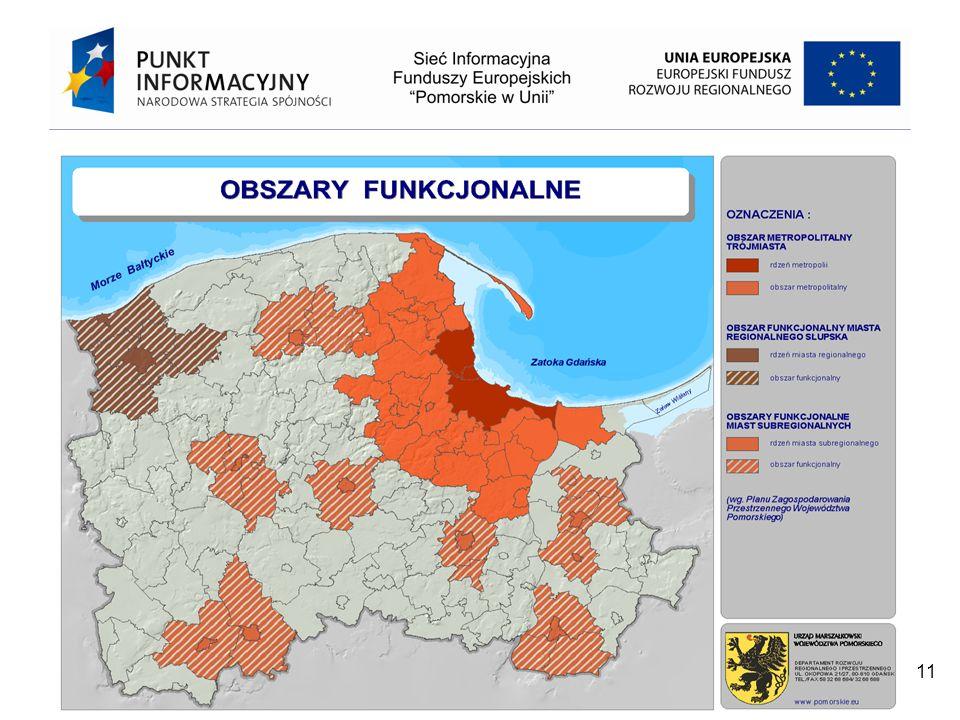 Projekt współfinansowany przez Unię Europejską z Europejskiego Funduszu Rozwoju Regionalnego w ramach Programu Operacyjnego Pomoc Techniczna 2007 – 2013 11