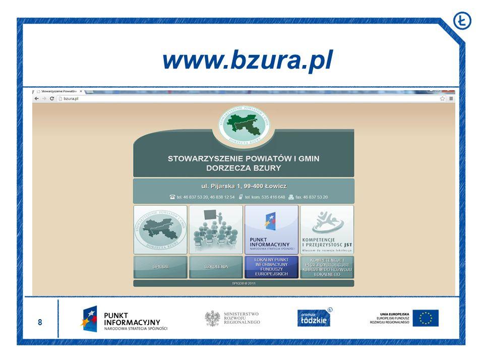 29 W ramach Projektu zorganizowane zostaną 2 edycje naboru I nabór w dniach 8 – 22 listopada 2013 r.