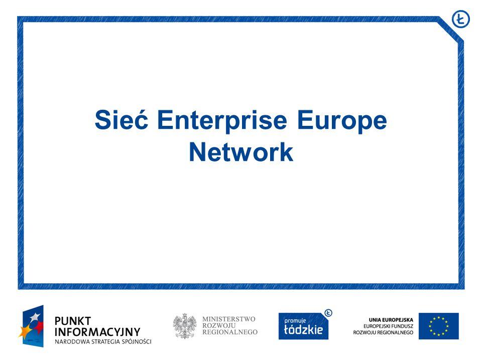 Data i miejsce prezentacji Arial 16 pkt Sieć Enterprise Europe Network