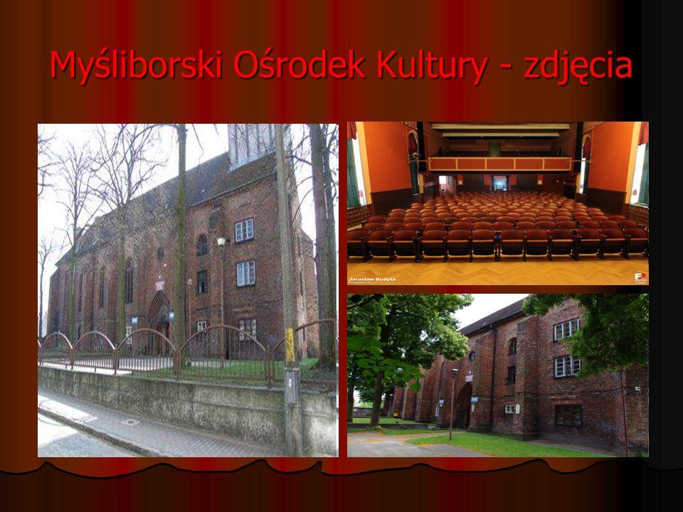 Myśliborski Ośrodek Kultury - MOK Myśliborski Ośrodek Kultury mieści się w klasztorze dominikańskim z drugiej połowy XIII w. Był to Jedyny klasztor do
