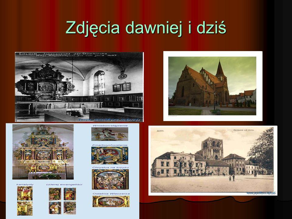 Kolegiata św. Jana Chrzciciela – opis II Obecna budowla została wzniesiona z kamienia i cegły w stylu gotyckim na początku XV wieku. Jest to orientowa