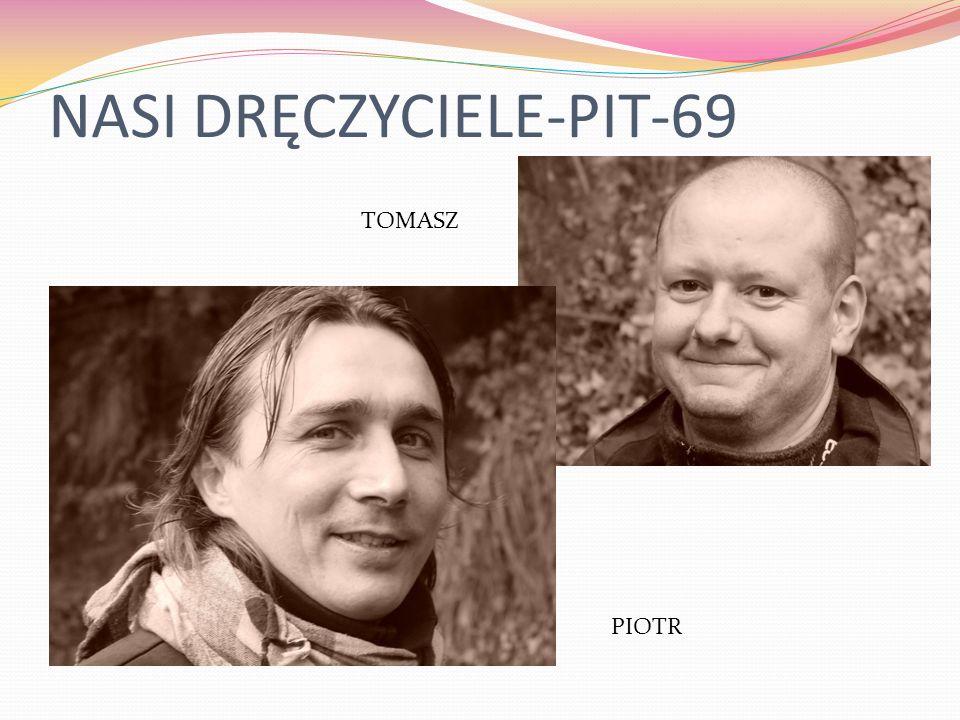 NASI DRĘCZYCIELE-PIT-69 PIOTR TOMASZ