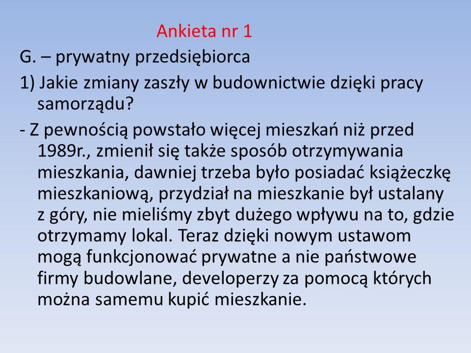 2) Jakie nowe inwestycje powstały we Włocławku z inicjatywy gminy/powiatu.