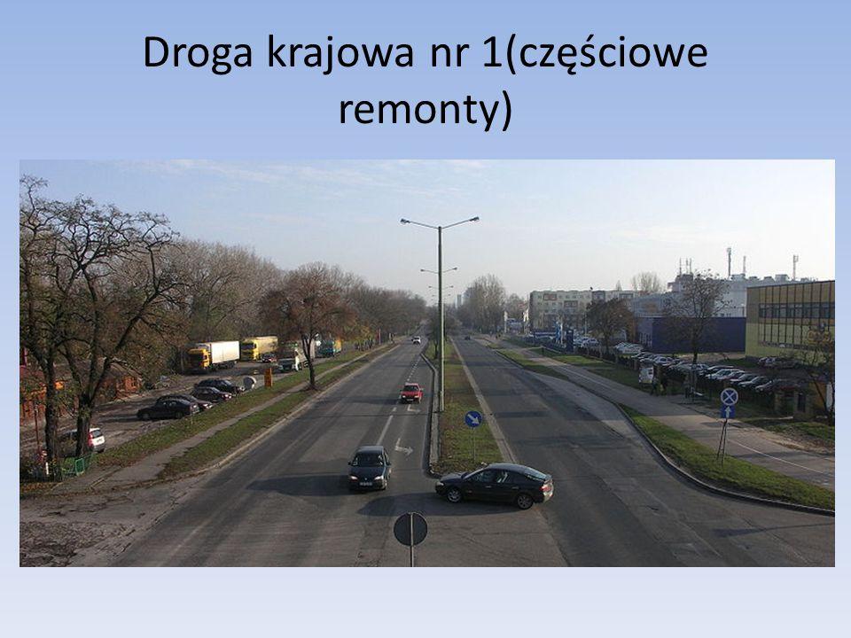 Droga krajowa nr 1(częściowe remonty)