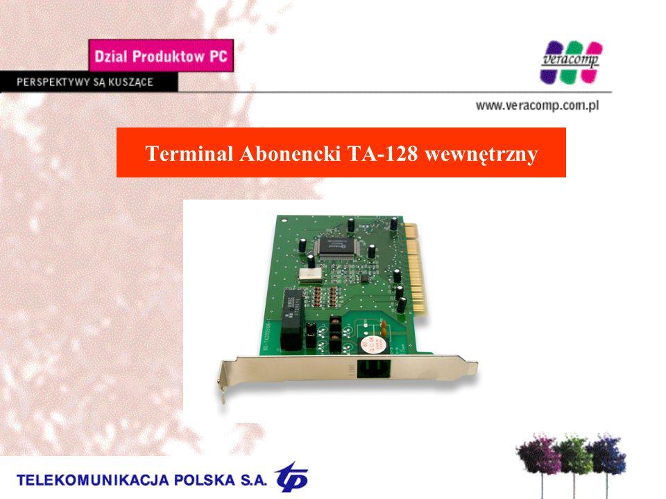 Terminal Abonencki TA-128 wewnętrzny