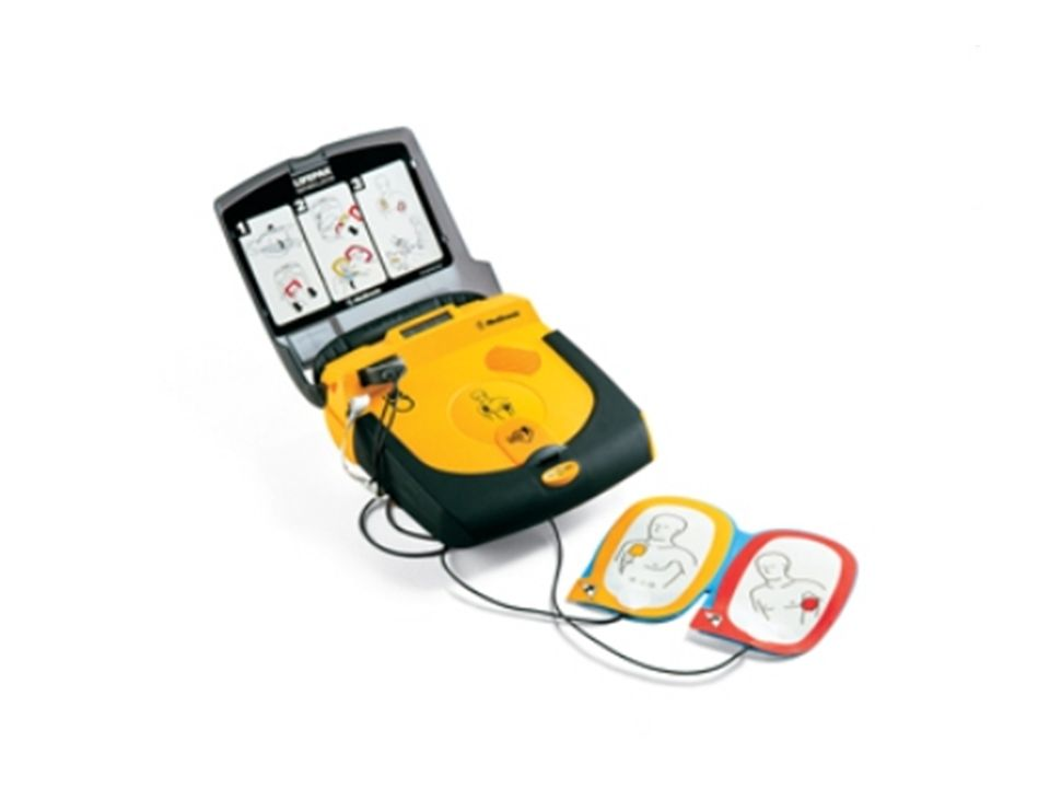 Jak prawidłowo prowadzić resuscytację krążeniowo - oddechową przy użyciu AED.