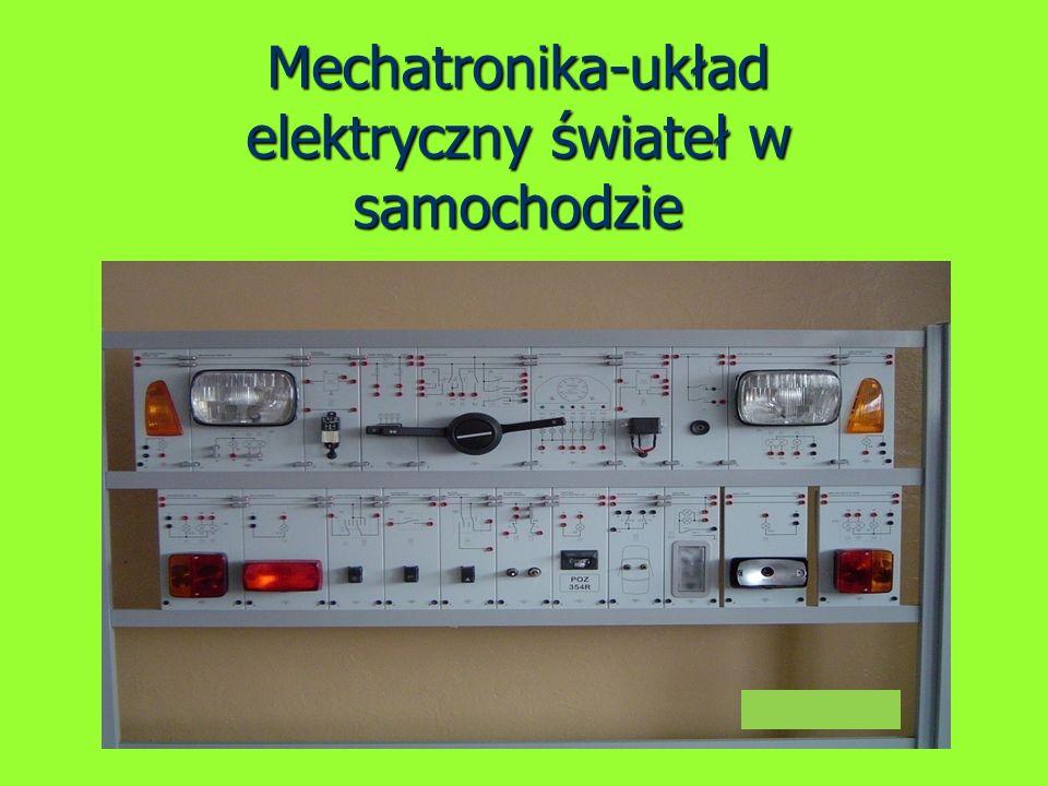 Mechatronika-układ elektryczny świateł w samochodzie