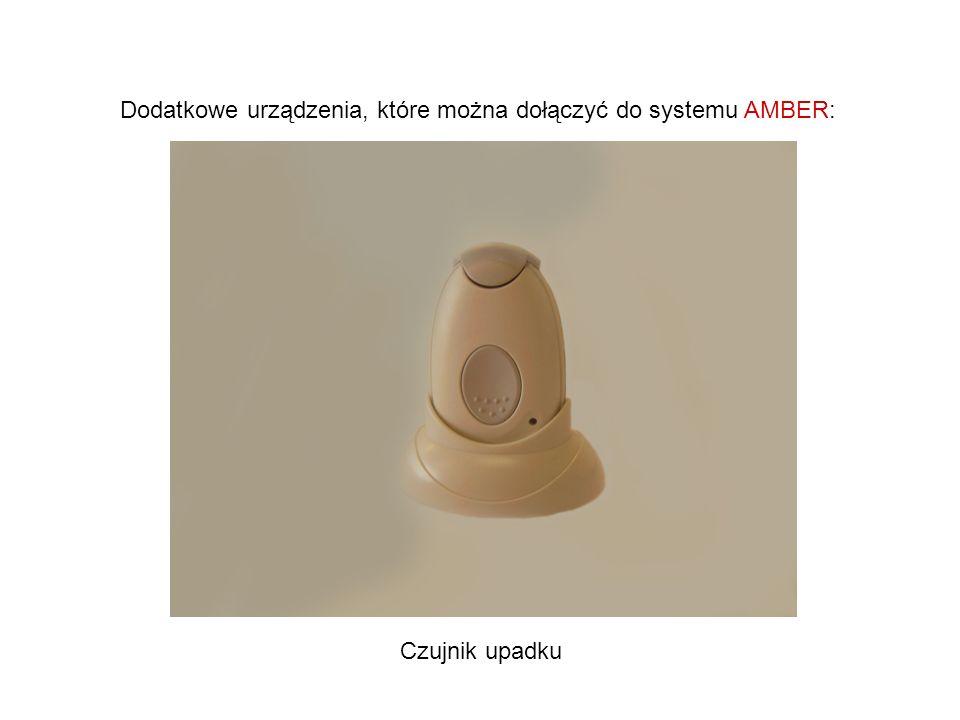 Dodatkowe urządzenia, które można dołączyć do systemu AMBER: Czujnik upadku