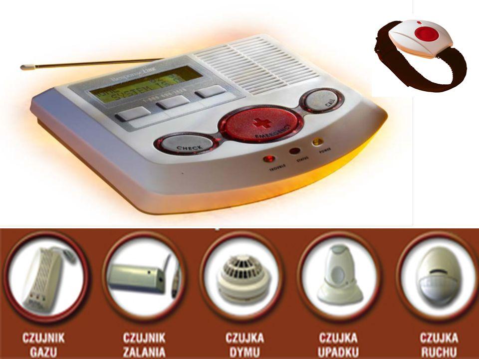 Funkcje nadajnika AMBER: - wzywanie pomocy w nagłym wypadku przez użycie osobistego nadajnika; głosowy telefon (bez użycia rąk) w czasie komunikacji z Centrum Monitorowania SUPERVISION; - dwustronna komunikacja głosowa - komputerowa kontrola i pobieranie danych - zdalne sterowanie przez telefon - zdalna diagnostyka i zapisywanie wydarzeń - wizualne i słyszalne zawiadomienie - zasięg odbiornika - około 180 metrów w otwartej przestrzeni - możliwość podłączenia do 29 czujników bezprzewodowych m.in.