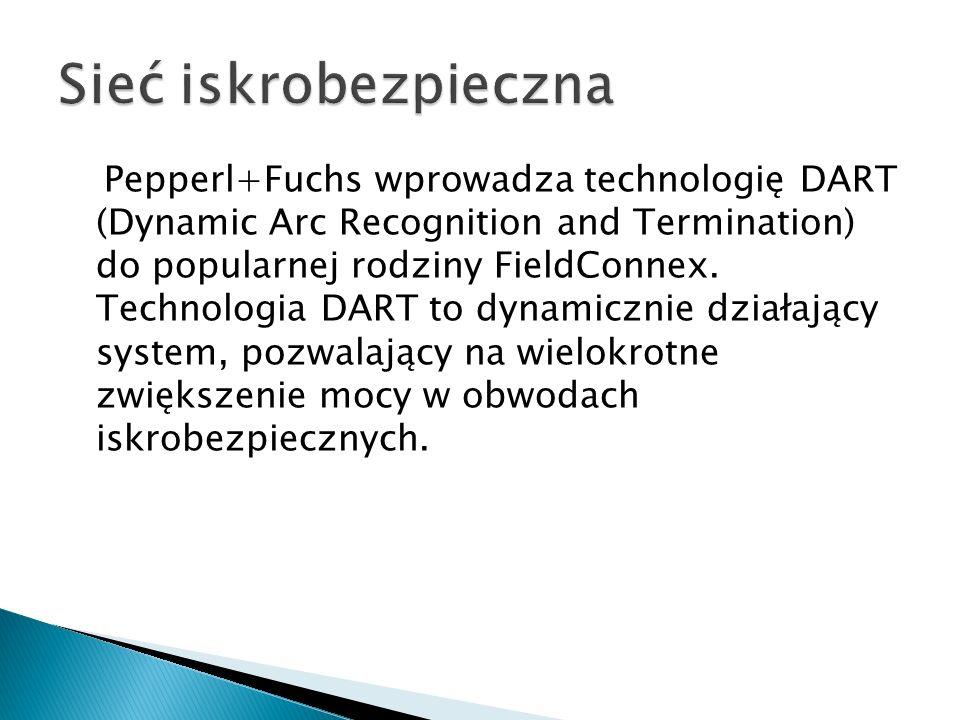 Pepperl+Fuchs wprowadza technologię DART (Dynamic Arc Recognition and Termination) do popularnej rodziny FieldConnex. Technologia DART to dynamicznie