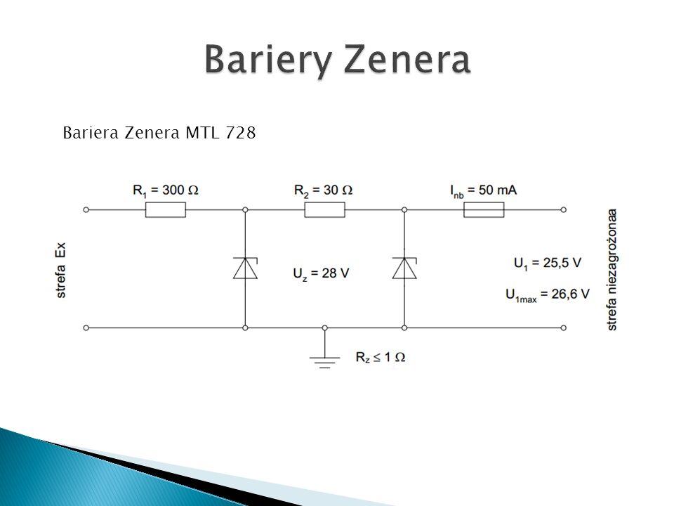 Bariera Zenera MTL 728