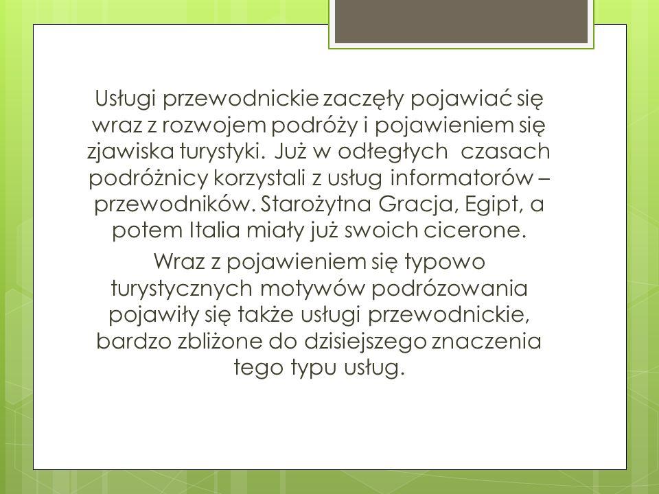 Trochę historii Za pierwszy oficjalnego przewodnika europejskiego należy wymienić Franza Pablo, sołtysa wsi Karłów w Górach Stołowych, który w 1813 roku został mianowany królewskim przewodnikiem i kasjerem Szczeelińca Wielkiego.