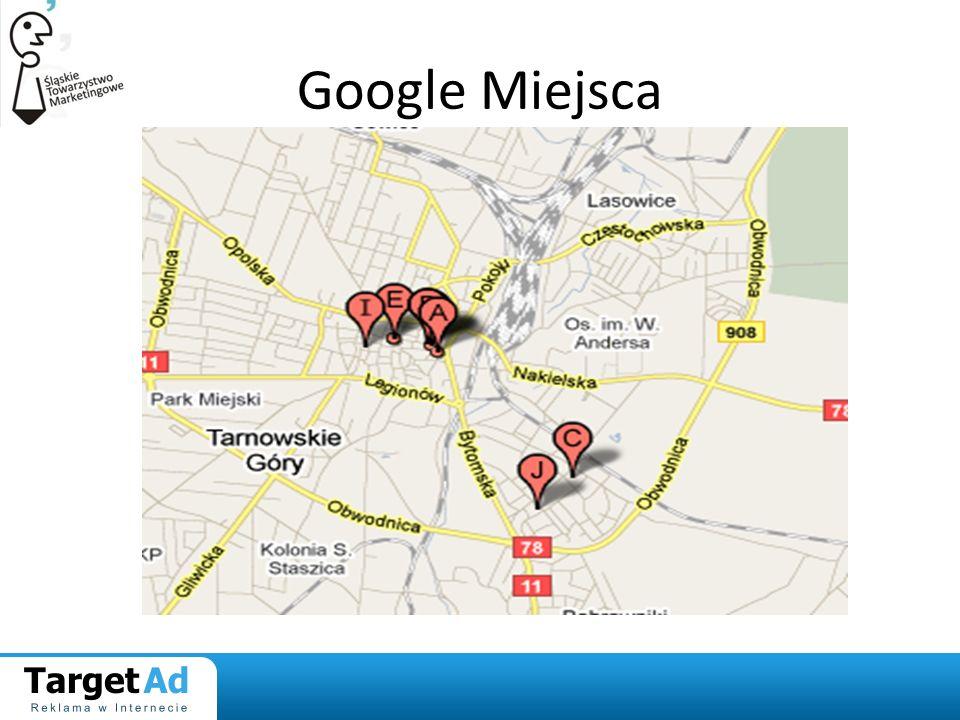 Google Miejsca