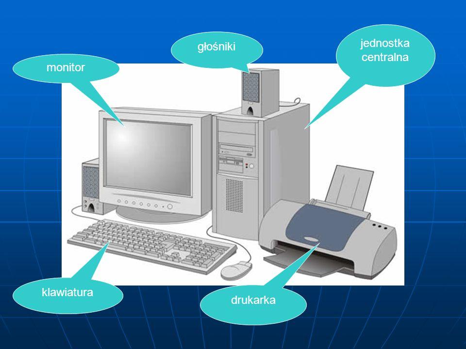 Komputer jest maszyną elektroniczną, która służy człowiekowi do przetwarzania informacji. Umożliwia wykonywanie skomplikowanych obliczeń, rysunków i p