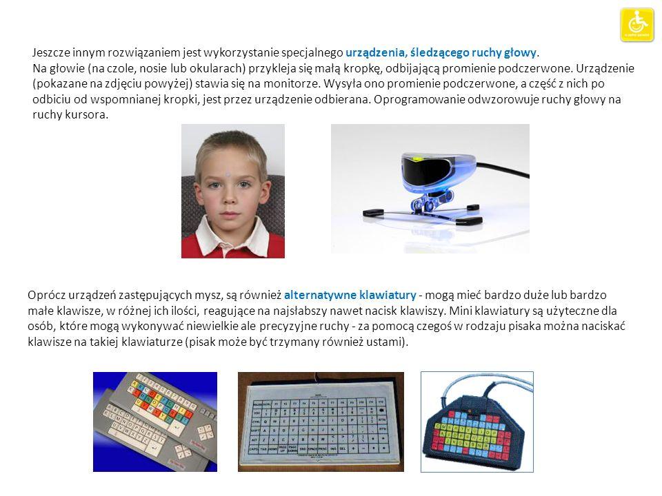 Komputerowe stanowisko tyfloinformatyczne Notatnik brajlowski i Minitor brajlowski