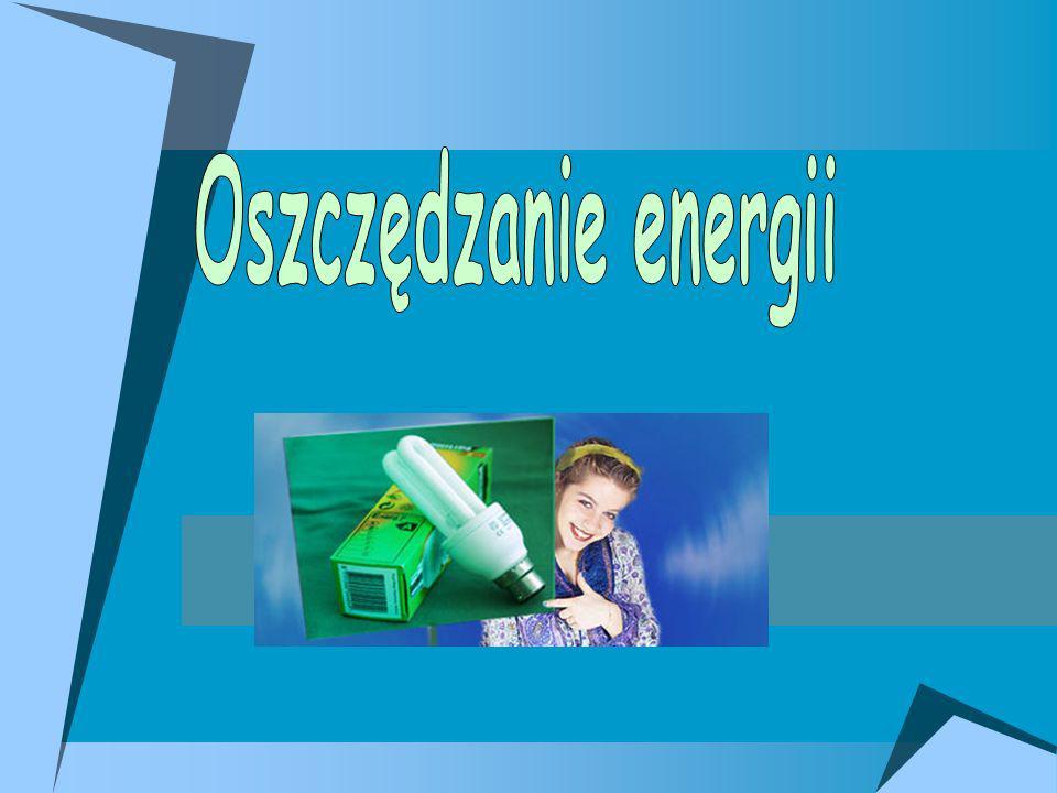 1.Pojęcie energii elektrycznej 2.Co to znaczy oszczędzać energię 3.