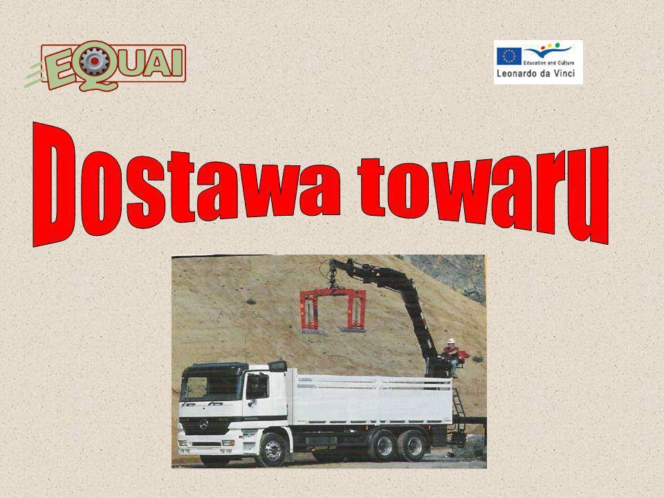 9) Przewóz materiałów niebezpiecznych Pojazd przewożący materiały niebezpieczne powinien być odpowiednio oznakowany Podczas przewozu materiałów niebezpiecznych należy przestrzegać dodatkowo stosownych znaków (przykłady znaków dla Polski).
