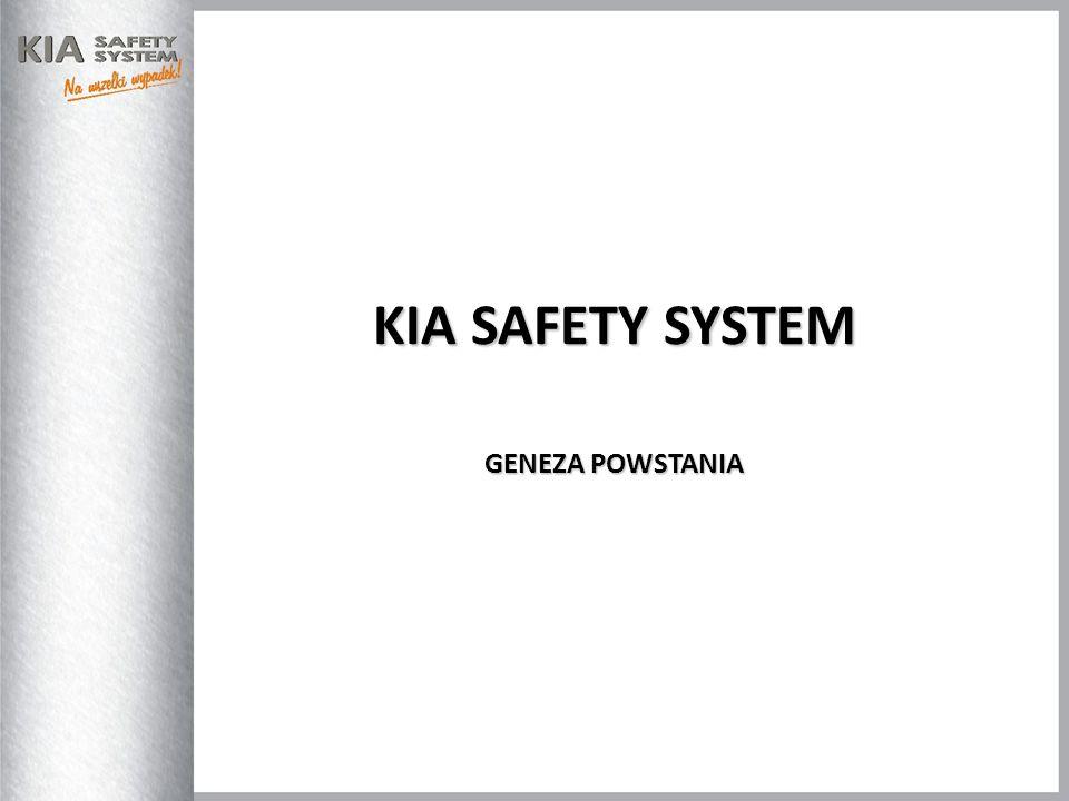 KIA Safety System to innowacyjny produkt przygotowany dla marki KIA, którego głównym zadaniem jest szybkie zawiadomienie i szybsze dotarcie służb ratowniczych w sytuacji wystąpienia kolizji drogowej.