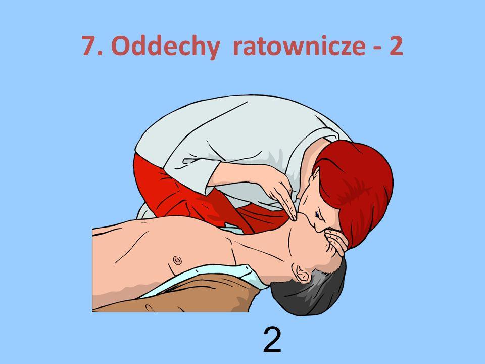 11. Jeżeli poszkodowany zacznie prawidłowo oddychać ułóż go w pozycji bezpiecznej