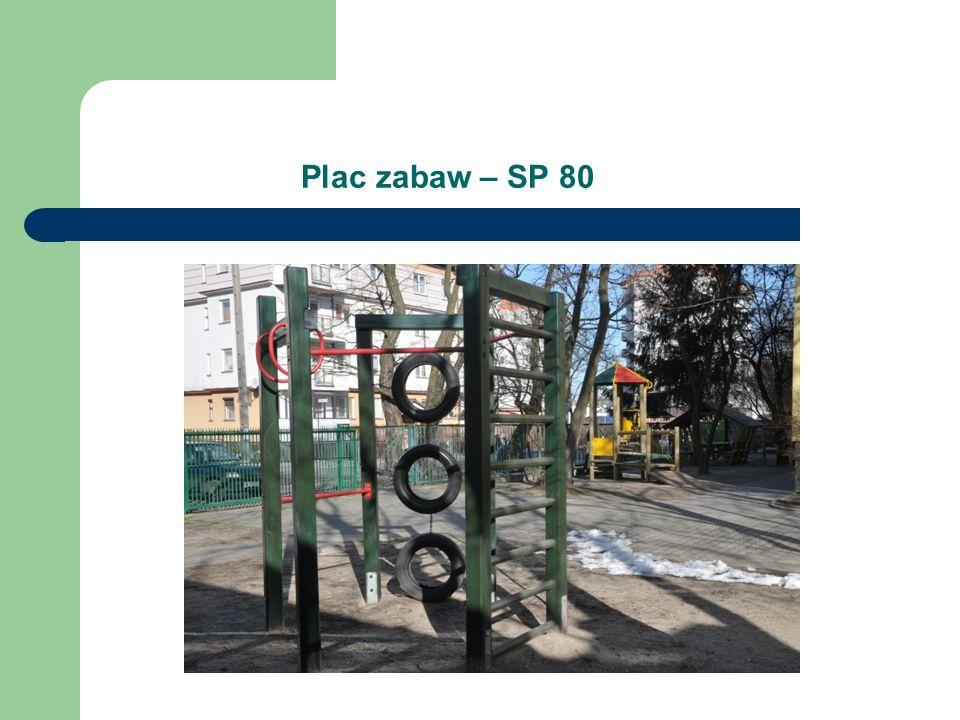 Plac zabaw – SP 80
