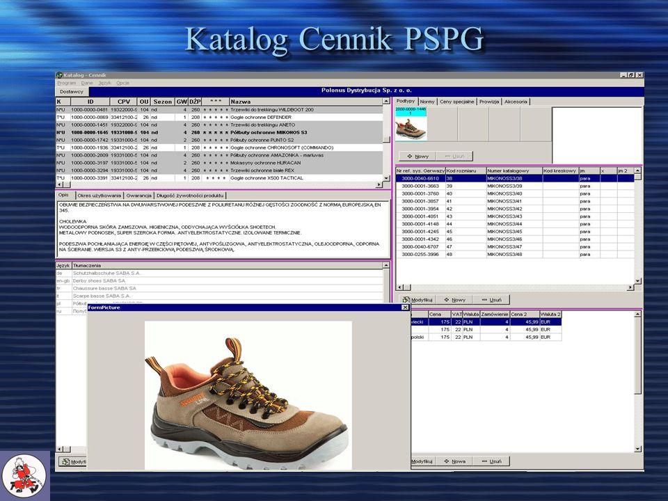Katalog Cennik PSPG