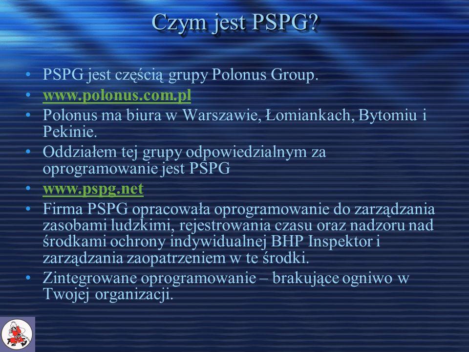 Czym jest PSPG. PSPG jest częścią grupy Polonus Group.