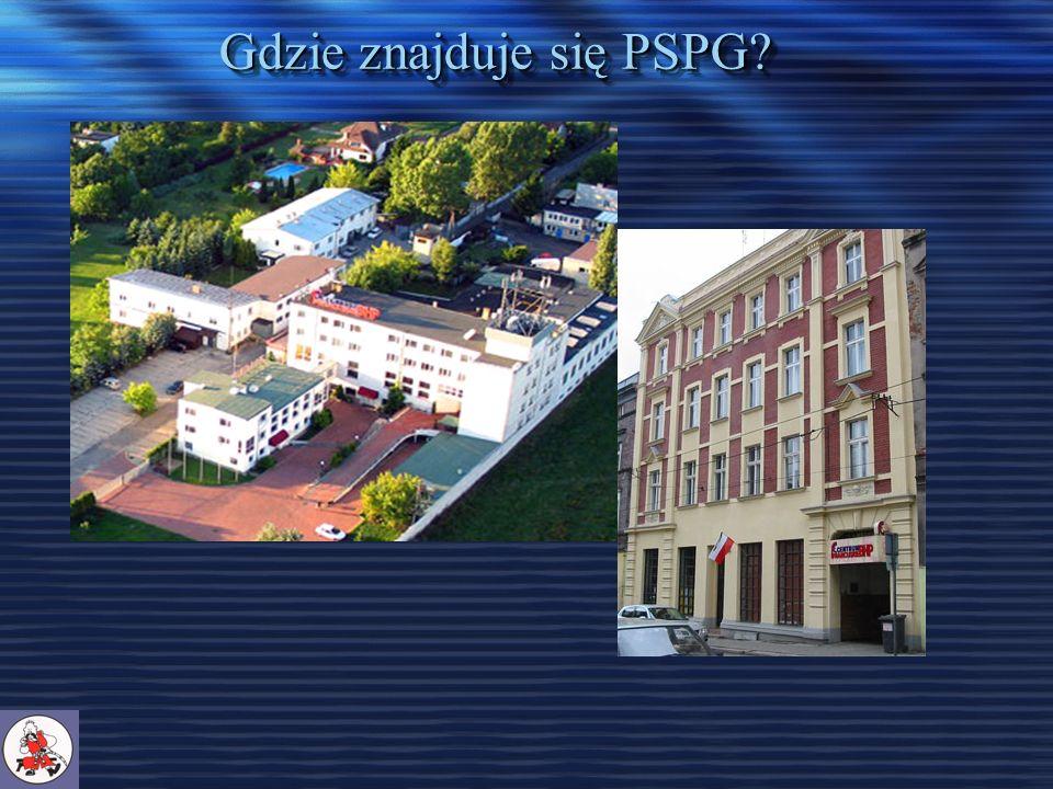 Gdzie znajduje się PSPG?