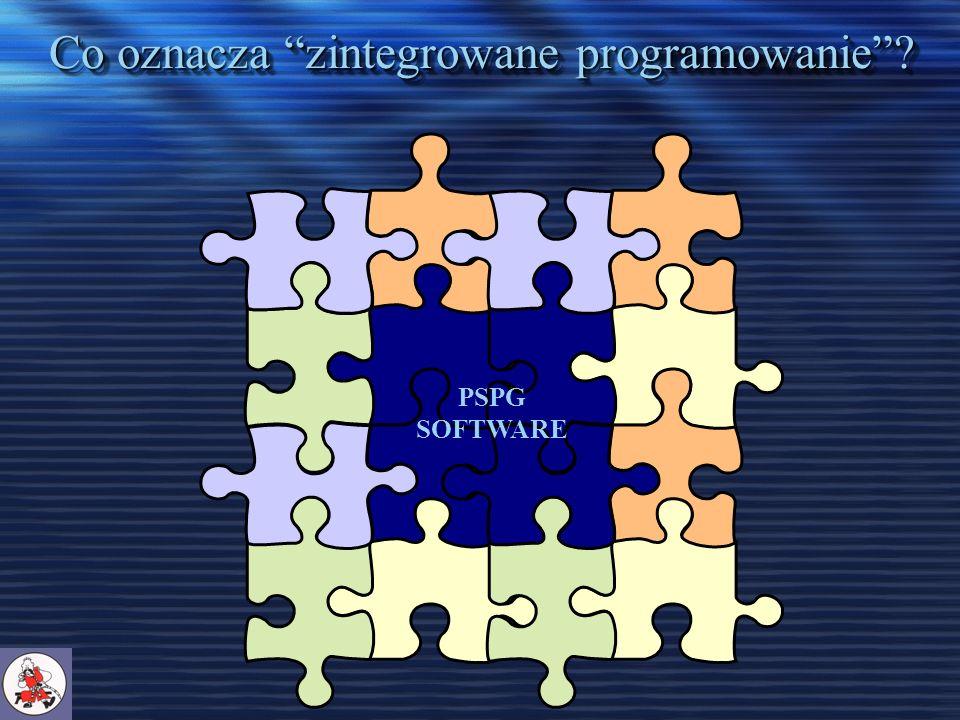 Co oznacza zintegrowane programowanie? PSPG SOFTWARE