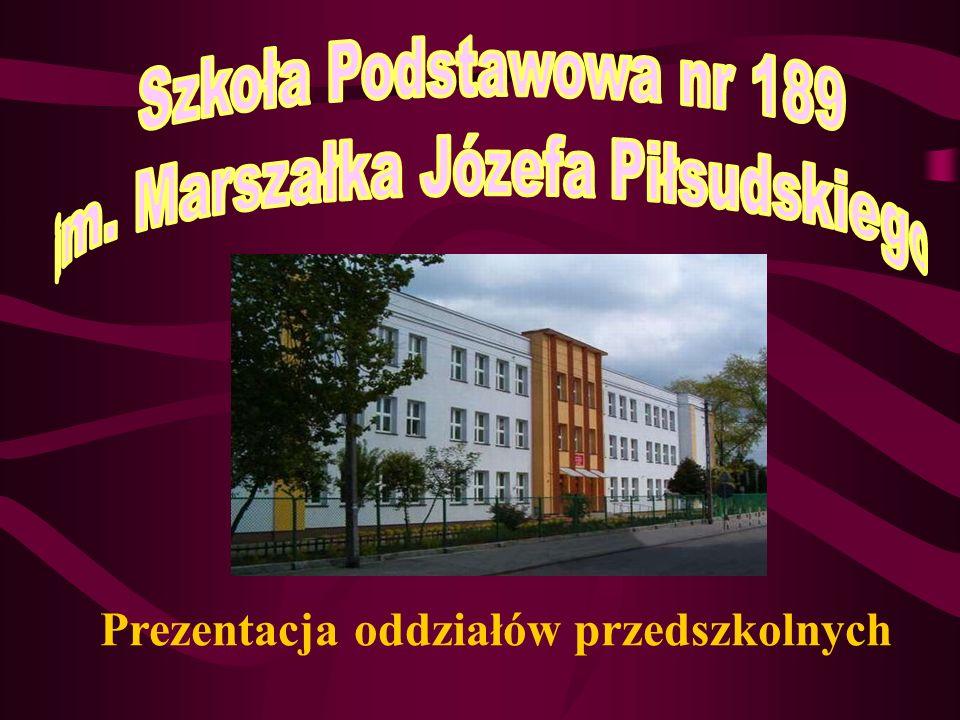 Prezentacja oddziałów przedszkolnych