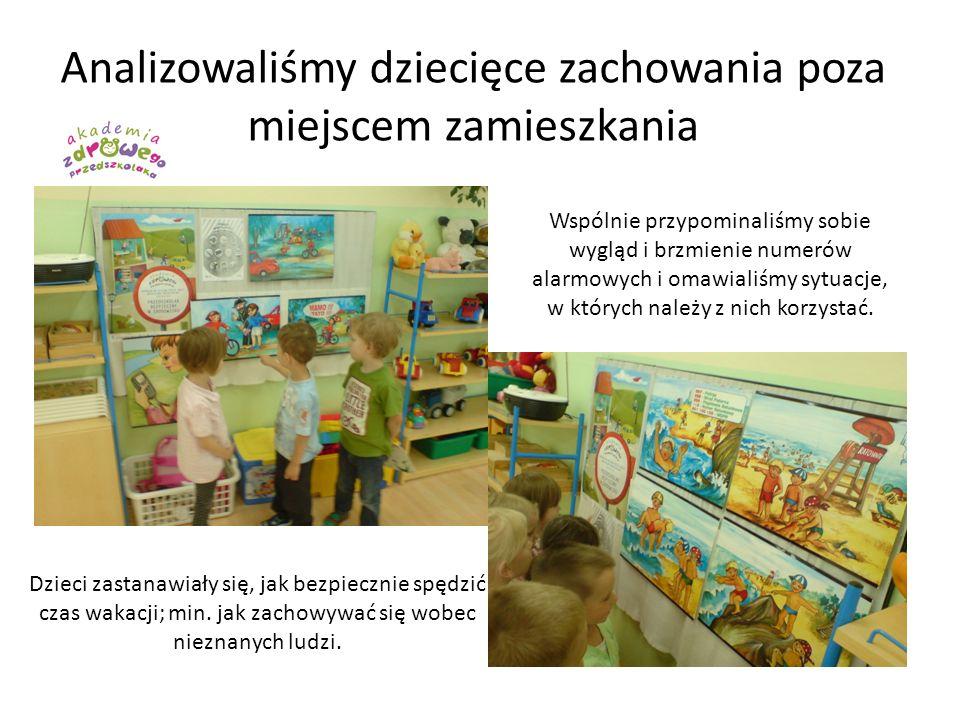 Analizowaliśmy dziecięce zachowania poza miejscem zamieszkania Dzieci zastanawiały się, jak bezpiecznie spędzić czas wakacji; min. jak zachowywać się