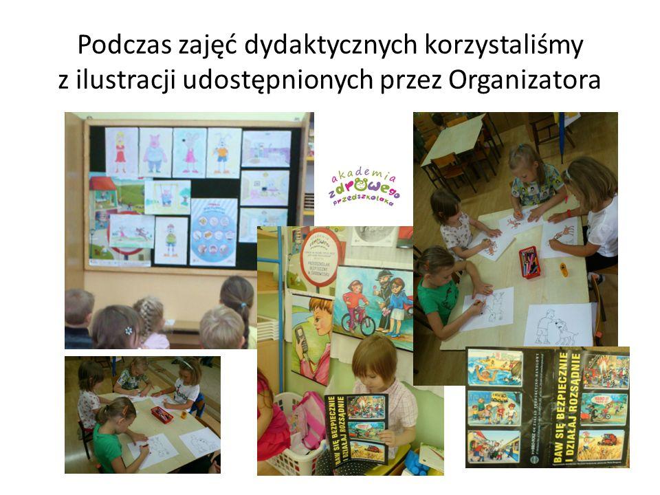 Podczas zajęć dydaktycznych korzystaliśmy z ilustracji udostępnionych przez Organizatora
