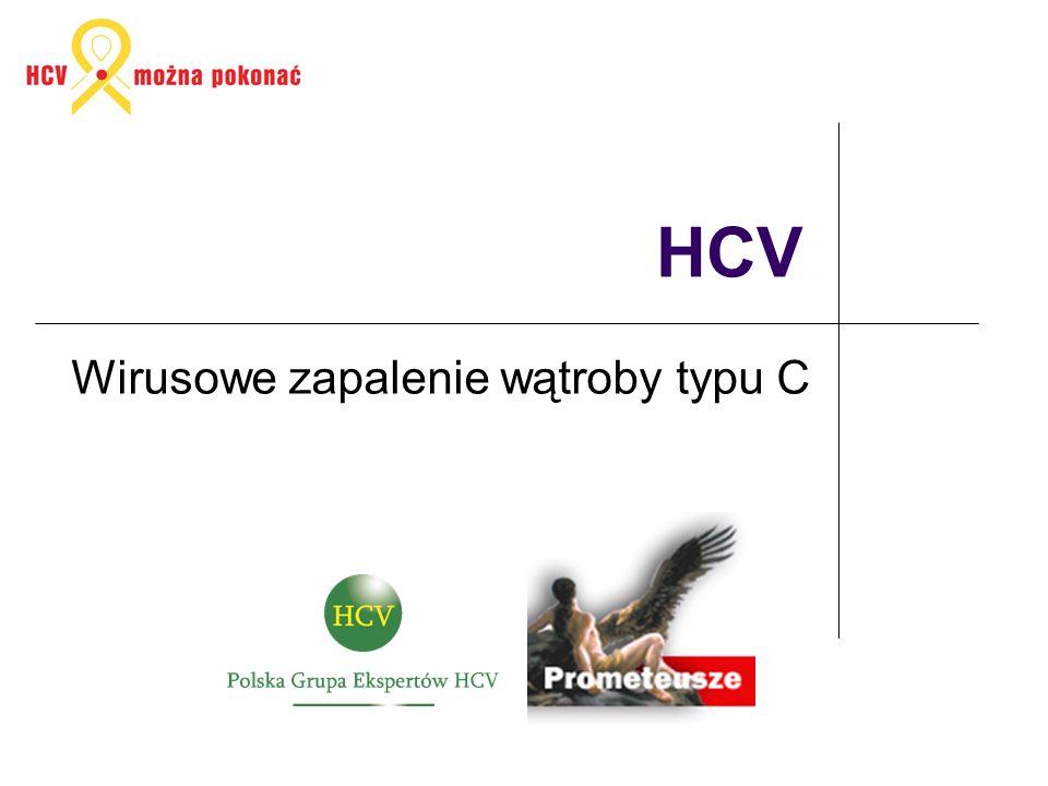 HCV Wirusowe zapalenie wątroby typu C