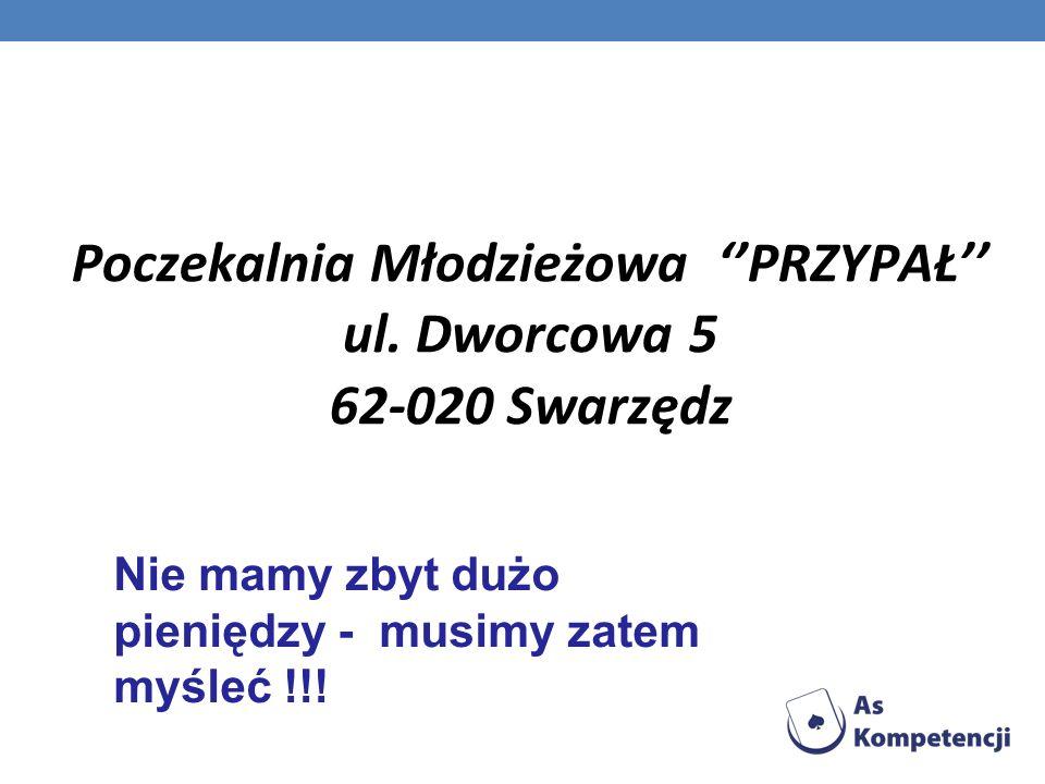 Poczekalnia Młodzieżowa PRZYPAŁ ul.