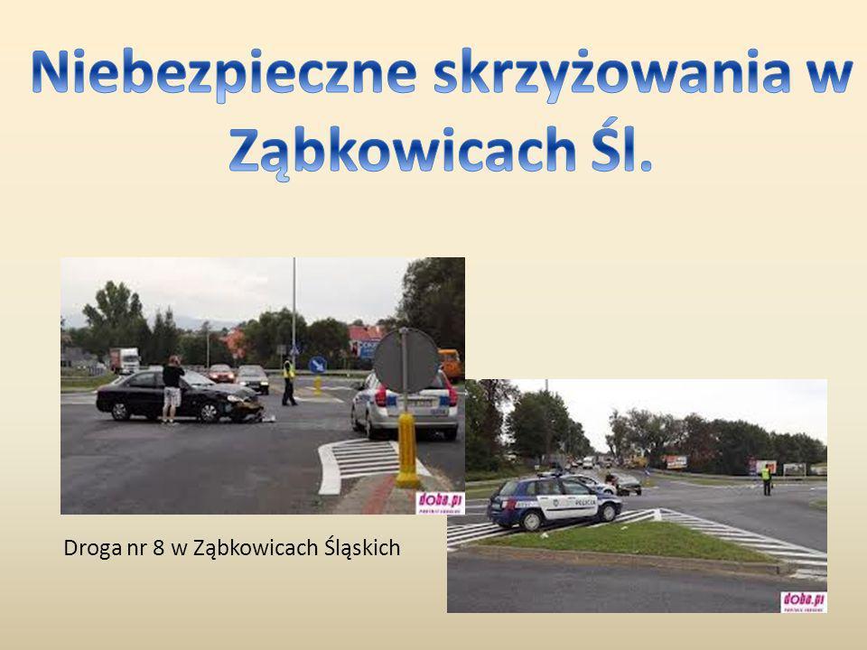 Droga nr 8 w Ząbkowicach Śląskich