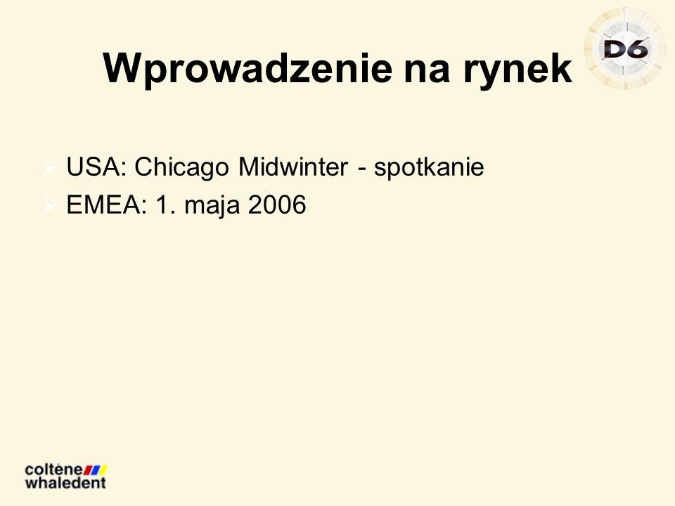 Wprowadzenie na rynek USA: Chicago Midwinter - spotkanie EMEA: 1. maja 2006