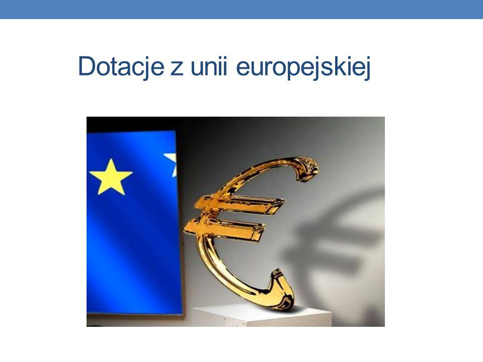 Dotacje z unii europejskiej