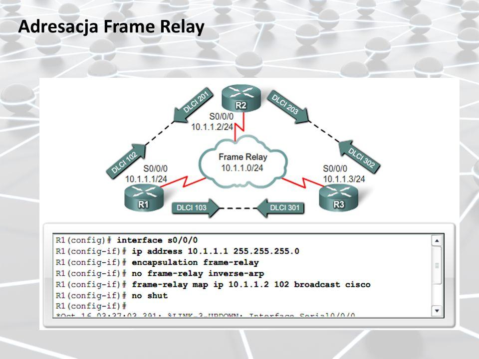 Adresacja Frame Relay