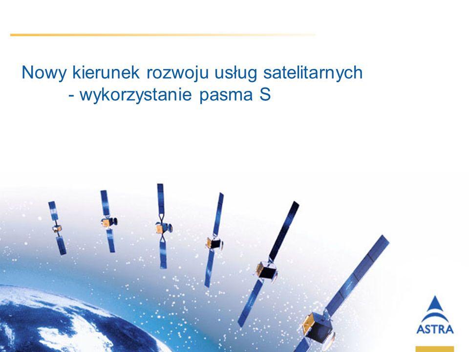 5 March, 2014 / Slide 11 Nowy kierunek rozwoju usług satelitarnych - wykorzystanie pasma S