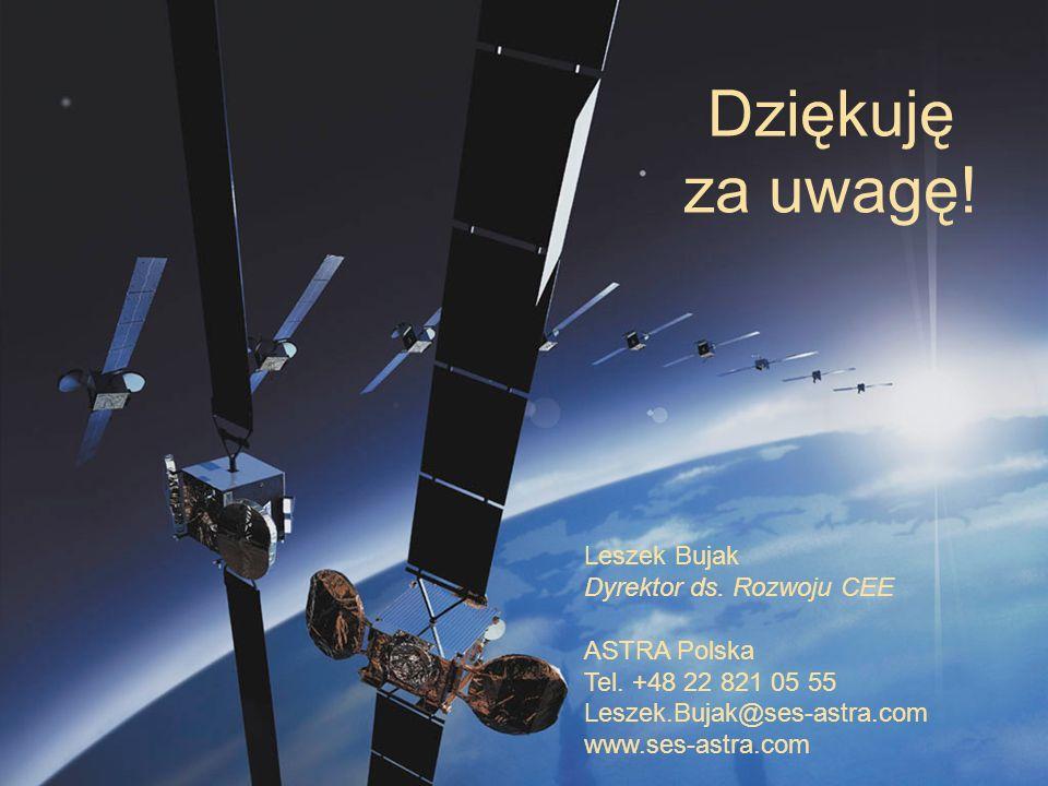 5 March, 2014 / Slide 14 Dziękuję za uwagę! Leszek Bujak Dyrektor ds. Rozwoju CEE ASTRA Polska Tel. +48 22 821 05 55 Leszek.Bujak@ses-astra.com www.se