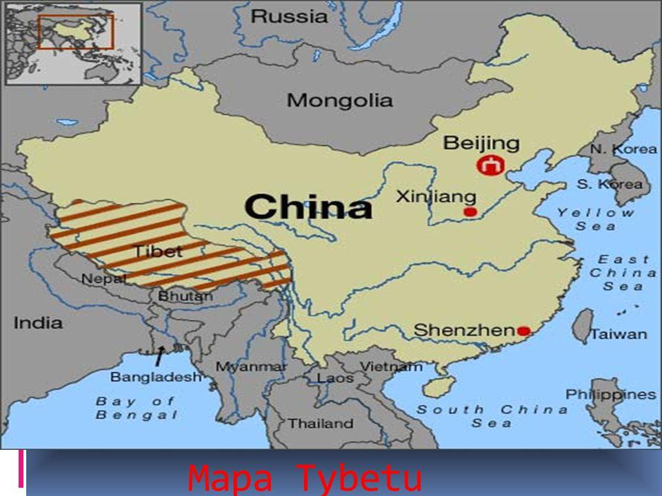 Mapa Tybetu