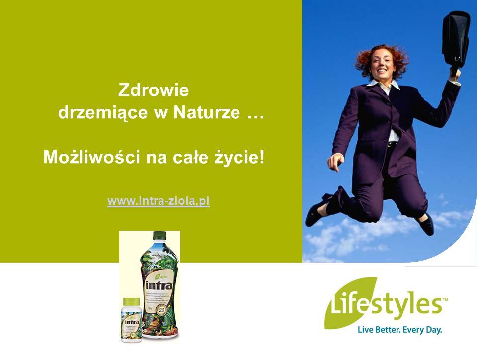 Zdrowie drzemiące w Naturze … Możliwości na całe życie! www.intra-ziola.pl