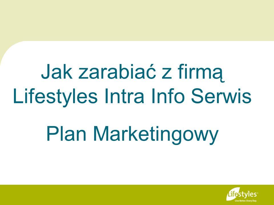 Jak zarabiać z firmą Lifestyles Intra Info Serwis Plan Marketingowy